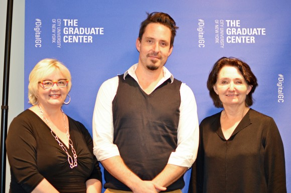 On November 21, the Futures Initiative hosted a panel on digital media platforms for publishing with Jessie Daniels, Alexei Taylor, and Diana Tylor